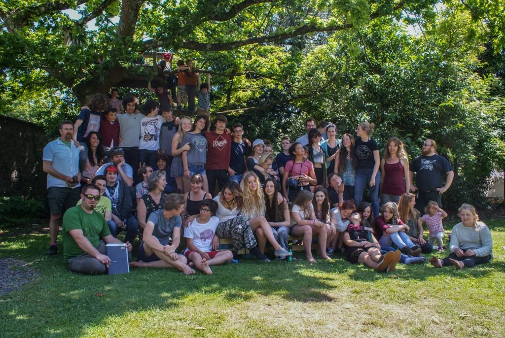 Whole school photo - 2015b